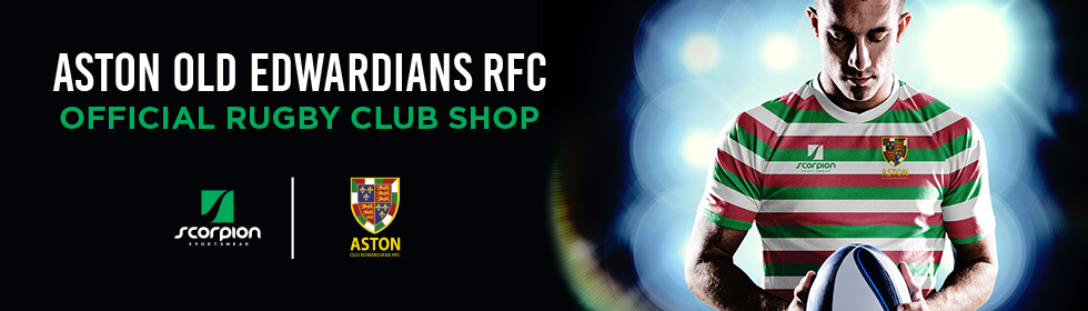 Aston Old Eds Rugby Kit Shop