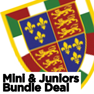 Aston Old Edwardians Rugby Mini and junior kit bundle deal